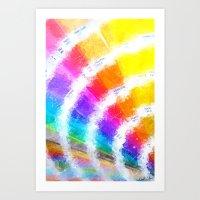 Pantone Color Book Art Print