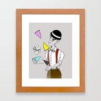 Alex DeLarge InQuadri Framed Art Print