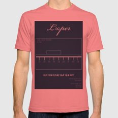 Looper Mens Fitted Tee Pomegranate SMALL