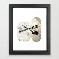 SPOON & GABLE Framed Art Print