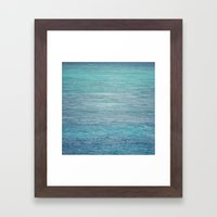 South Pacific X The Cora… Framed Art Print