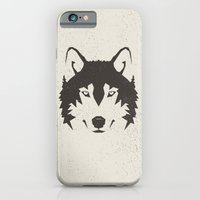 iPhone & iPod Case featuring Wolf by Mr. Peruca