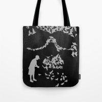 Pigeonholed Tote Bag
