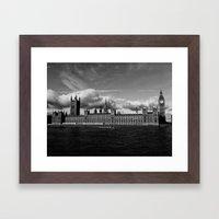 Kingdom for the Clouds Framed Art Print