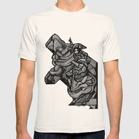 Napoleon Mens Fitted Tee Natural SMALL