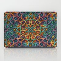 Colorful Fractal Pattern iPad Case