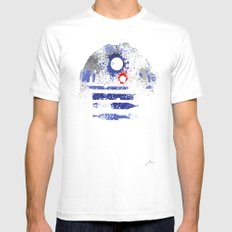 Astromech Deetoo SMALL White Mens Fitted Tee