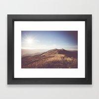 Poloniny Framed Art Print