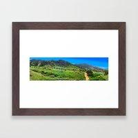 Mount Falcon Framed Art Print