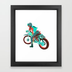 Switchblade Framed Art Print