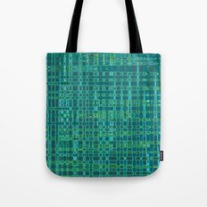 Hipster Plaid Tote Bag