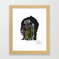 Input, Lost in Wonder, Lost in Love, Lost in Praise, forevermore  Framed Art Print