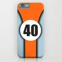 iPhone & iPod Case featuring GT40 by PsychoBudgie