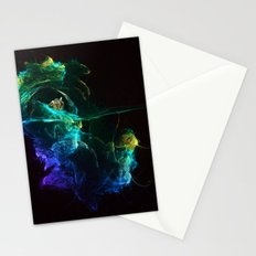 Falling into Abuss Stationery Cards