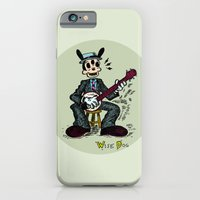 Wise Dog And His Banjo iPhone 6 Slim Case