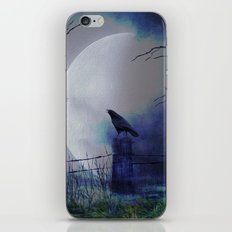 Whit This Beautiful Moon iPhone & iPod Skin