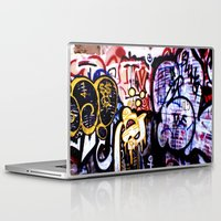 graffiti Laptop & iPad Skins featuring Graffiti by Ian Bevington