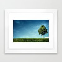 Rhythm of Living Framed Art Print
