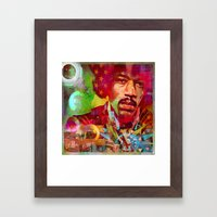 Are You Experienced Framed Art Print