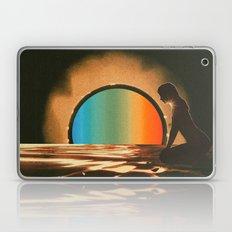 Sunset meditate Laptop & iPad Skin
