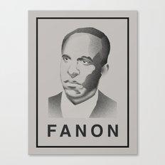Fanon (Monochrome) Canvas Print