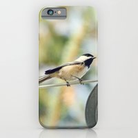 Chick on a line iPhone 6 Slim Case