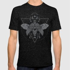 Oculus Mens Fitted Tee Tri-Black SMALL