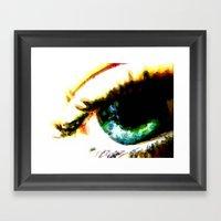 Seeing Color 2 Framed Art Print