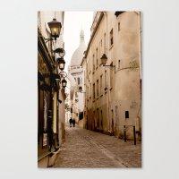 A Walk To The Sacré Coe… Canvas Print