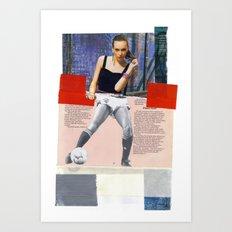 Football Fashion #11 Art Print