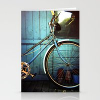 Bluebell The Blue Bicycl… Stationery Cards