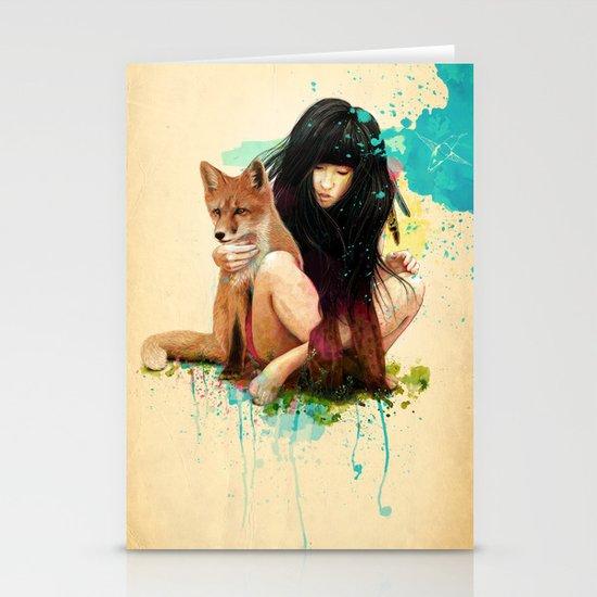 Fox Love Stationery Card