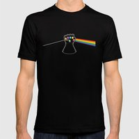 Dark Side Of Infinity Mens Fitted Tee Black SMALL