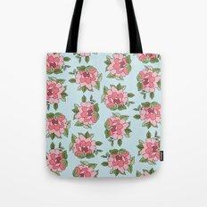 Antique Flower Tote Bag