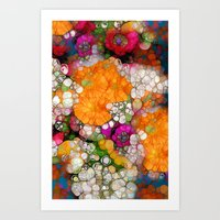 Many Colors Art Print