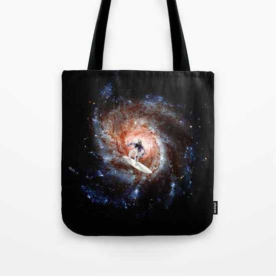 Ride The Spiral Tote Bag