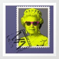 Pop Queen Art Print