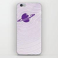 Saturn iPhone & iPod Skin