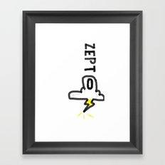 Zepto 2 Framed Art Print