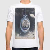 picture frame Mens Fitted Tee Ash Grey SMALL
