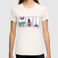 Spidey Is Weird Womens Fitted Tee Natural SMALL