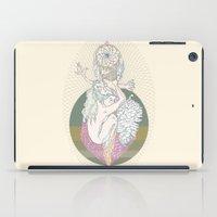 Pinecone & Cream iPad Case