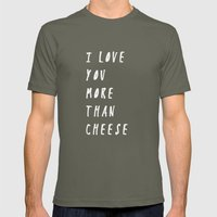 I Love You More Than Che… Mens Fitted Tee Lieutenant SMALL