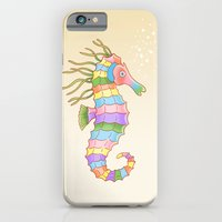 iPhone & iPod Case featuring Crayon Ponyfish by Fresh Prints