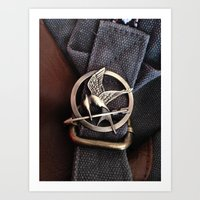 Mockingjay Art Print
