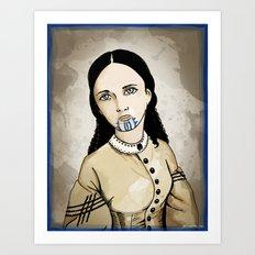 Olive Oatman Art Print