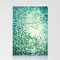 Broken Glass 2 - For Iph… Stationery Cards