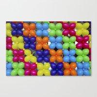 Balloon Wall Canvas Print