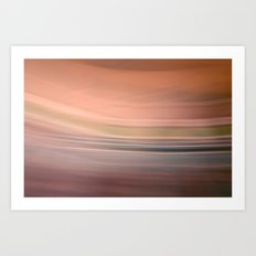 Color Blur Art Print