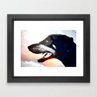 Troy Framed Art Print
